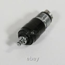 10 NSK Style Dental High Speed Handpiece YBNK4 + Quick Coupler Swivel 4Holes USA