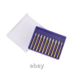 100 PCS Dental High Speed Burs FG7406 Trimming & Finishing Egg Shape 10pcs/Box