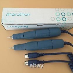 2pcs Dental Marathon Micromotor 45000 RPM Jewelry Drill Polishing Handpiece 2.35