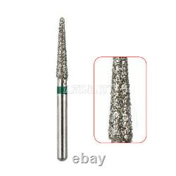 300 Packs Dental Diamond Tooth Drill Burs 150 Types for High Speed Handpiece