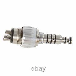 5 Dental KAVO Style Coupler High Fast Speed Handpiece Push Button Air Turbine 4H