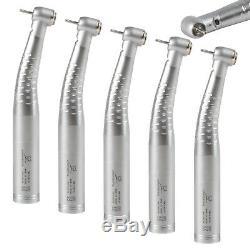 5 Pcs USA Dental Fiber Optic LED Turbine Handpiece fit KAVO Swivel Coupling 4/6H