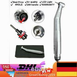 5Handstück Dental High Speed LED Fiber Optic Handpiece Turbine 4Loch