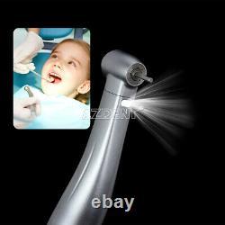 5X Dental Electric 15 Increasing Fiber Optic Contra Angle Handpiece Push Button