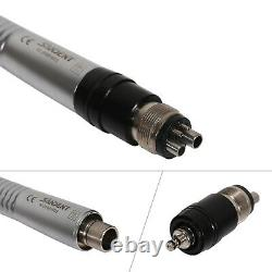 5X Mini Head NSK Style Dental High Speed Turbine Handpiece Quick Coupler 4 Holes