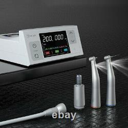 CICADA E-type LCD Dental Electric Motor + High Speed 15 Handpiece Contra Angle