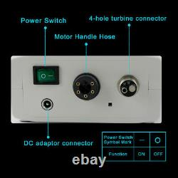 CICADA LED Dental Electric Motor + High Speed 15 Handpiece Contra Angle