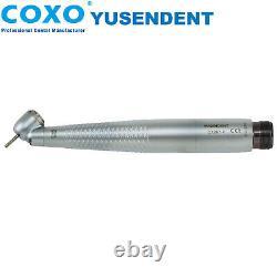 COXO Dental 45° LED E Generator Self Power High Speed Surgrey Handpiece 2 4 Hole