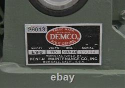 Demco Model E96 High Speed Dental Alloy 2-Speed Grinder & Polisher with Light