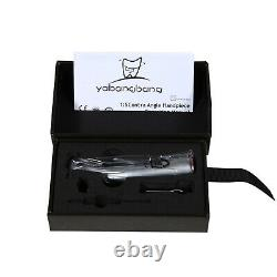 Dental 15 Electric LED Contra Angle Handpiece 4 INNER SPRAY For NSK Ti Max Z95L
