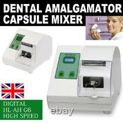 Dental Amalgam Capsule Mixer High Speed Electric Amalgamator HL-AH G6 4200rpm UK