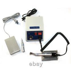 Dental Lab Marathon Micromotor N3 Polisher Polishing+35K RPM Handpiece & 10 Burs