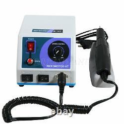 Dental Lab Polishing Polisher Marathon N7 Micro Motor + 35k rpm Handpiece UK