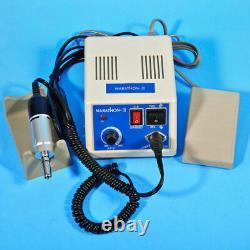 Dental Marathon 35K RPM Micromotor N3 Machine& Handpieces &10 Burs Drill US NFDX