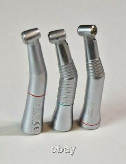 Lot of 3 KaVo Dental Handpieces INTRAcompact, INTRAmatic LUX 3, & EXPERTmatic