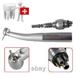 Mini Small Head Dental Fiber Optic LED Handpiece with Quick Coupler 6-H Pediatric