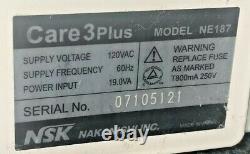 NSK Care 3 Plus NE187 Dental Handpiece Maintenance Lubrication System Care3Plus