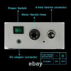 NSK LED Dental Internal Mirco Motor + 11/15 Fiber Optic Handpiece Contra Angle