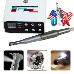 NSK Style Dental Brushless LED Electric Micro Motor 15 Fiber Optic Handpiece US