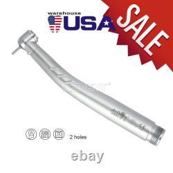 NSK Style Dental LED E-Generator High Speed 3Spray Handpiece Push Button 2/4Hole