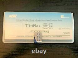 NSK Ti-Max Ti25L Blue with Light Dental Handpiece