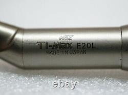 NSK Ti0Max E20L Dental Handpiece, High Spped Contrangle