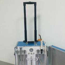 Portable Dental Unit With Air Compressor +Dental Air Scaler Sonic Hygienist 2/4H