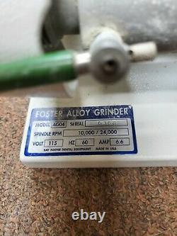 Ray Foster High Speed Alloy Grinder AG04 Dental Lab