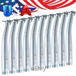 10 Pc De Style Dentaire Nsk Max Pana Bouton Poussoir Standard Handpiece À Grande Vitesse 2 Trous
