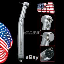 10 X Nsk Pana Max Modèle Dentaire E-générateur Led 3 Way Pièce À Main Haute Vitesse 4 Trous