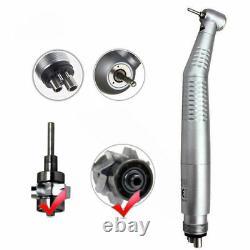 10handstück Dental Haute Vitesse Fibre Led Optic Pile À Main Turbine 4loch