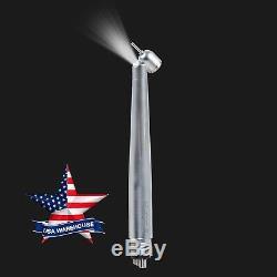 10pcs Led E-générateur Chirurgical Dentaire 45 Degrés Pièce À Main 4 Trous Yabangbang USA
