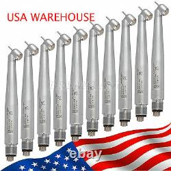 10pcs Surgical 45° Degree Dental High Speed Handpieces Push 4h Spray From USA Or 10pcs Surgical 45° Degree Dental High Speed Handpieces Push 4h Spray From USA Or 10pcs Surgical 45° Degree Dental High Speed Handpieces Push 4h Spray From USA Or 1
