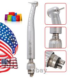10yabangbang Dental High Speed Turbine Handpiece 4 Hole Swivel Coupler Fit Kavo