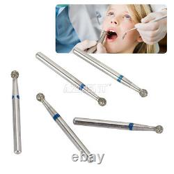 1500 Pcs Dental Mani Style Diamond Burs Perceuse De Dents Pour Pièce À Main Haute Vitesse S