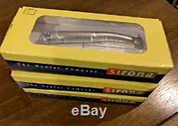 3x Sirona T3 Racer Dentaire Handpiece À Grande Vitesse Non-fibre Optique Standard Push 4h