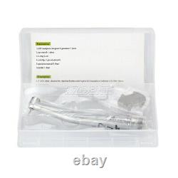 5 Kits Nsk Style Dental Led E-generator 3 Spray Haute Vitesse Bouton Poussoir Pièce À Main