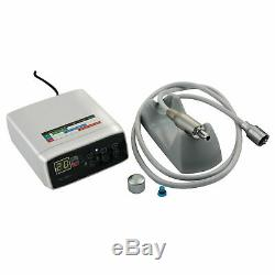 Dentaire Électrique Micro Moteur + 11/15/161 Fibre Optique Handpiece Contra Angle