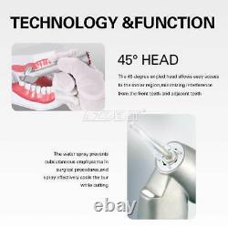 Dental 45 Degrés Electric Contra Angle Fibre Optique 14.2 Augmentation De La Pièce À Main