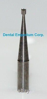 Dental Carbide Burs Fg #33 1/2 Cône Inversé Pour Forfait HP 100 Haute Vitesse
