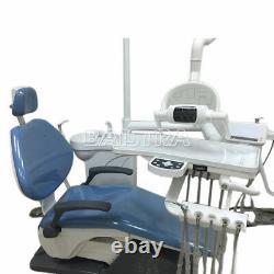 Dental Chair Leather DC Motor Unit Hard Leather + Ensemble De Pièces À Main Haute Vitesse