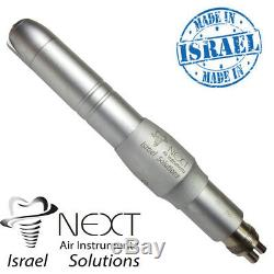 Dental Lab Handpiece À Grande Vitesse Avec De L'eau De Refroidissement Externe Par Pulvérisation Israël
