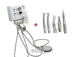 Dental Portable Wall Hanging Turbine Unit 4h +high Low Speed Handpiece Wrench 4h