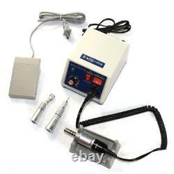 Laboratoire Dentaire Marathon Micromoteur N3 Polisher Polissage+35k RPM Pièce À Main Et 10 Burs