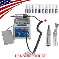 Laboratoire Dentaire Marathon Pièce À Main 35000 RPM Micromoteur Électrique + Perceuse 10 Types Ky