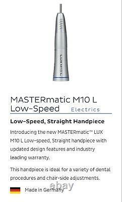 Mastermatic Lux M10l Mini Fixation Haute Vitesse Kavo Dental