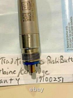 Midwest Tradition Plus Nouveau Porte-cartouche Push Button Dental Handpiece Warant