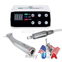 Moteur Électrique Brushless Dental Micromoteur + 15 Augmentation De La Vitesse Élevée Handpiece