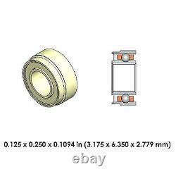 Nouveau 40 Dental Highspeed Grw Roulement Céramique Dr70b1l-801 Pour Kavo Siemens Scellés