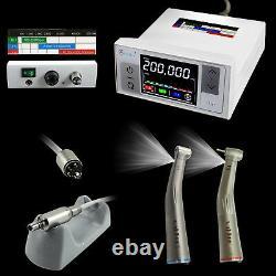 Nsk Led Dental Internal Mirco Motor + 11/15 Fibre Optique Handpiece Contra Angle